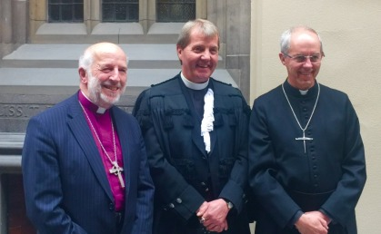 David Chillingworth, Russell Barr & Justin Welby