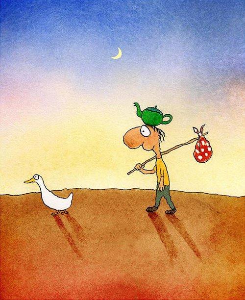 Leunig - Direction Finding Duck