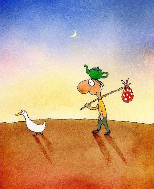 Leunig - Direction Finding Duck