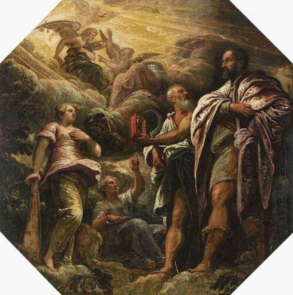 Tintoretto - Alegoria moralității lucrurilor pământești (sursa)