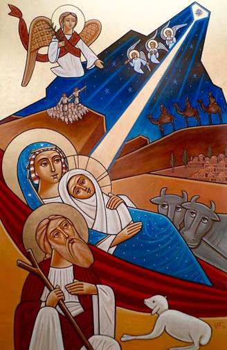 nativity-ikon-coptic
