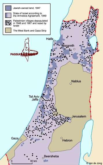 Nakhba map