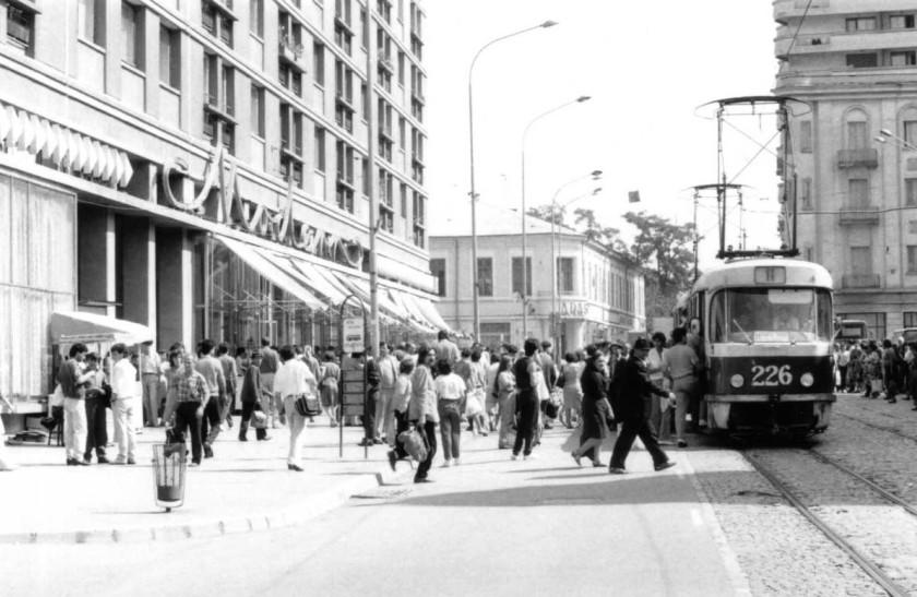 Tram in Iasi - PIata Unirii